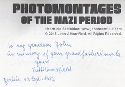 Gertrud Heartfield Signature