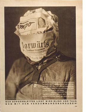 Whoever Reads Bourgeois Newspapers Becomes Blind and Deaf: Away with These Stultifying Bandages!