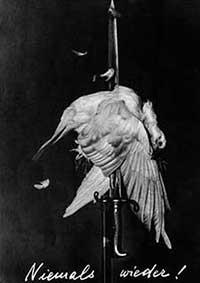famous antiwar poster john heartfield Never Again Niemals Weider