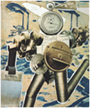 20th century German Political Art, John Heartfield photomontage Rationalization On The March for AIZ Magazine