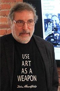 john heartfield grandson famous political art presentations